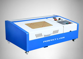 China 50w / 40w CO2 Laser Engraver / Mini Laser Rubber Stamp Engraving Machine supplier