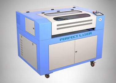 China Small Desktop CO2 Laser Cutting Machine , 600 x 400mm Co2 Laser Cutter For Home DIY supplier