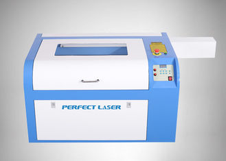 China 40W CO2 Laser Engraving Machine , Mini Laser Engraver For Plastic Rubber Paper supplier