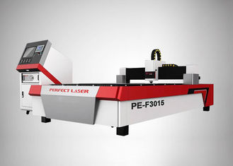 China 1070nm Wavelength Fiber Laser Cutting Machine With 1 - 5mm Carbon Steel Thickness supplier