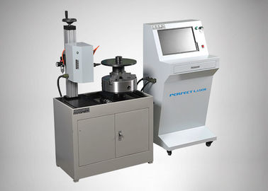 China Iron Steel Dot Peen Marking Machine Automatic 50mm / Second Speed High Accuracy supplier