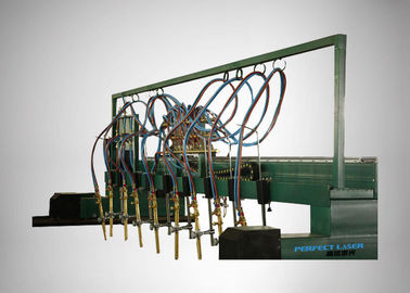 China Industrial Straight Gantry Type Plasma Cutting Machine High Precision For Stainless Steel supplier