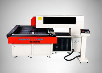 China Wood Die Board Laser Cutting Machine 2.5KW With Two Laser Head Coaxial Cutting supplier