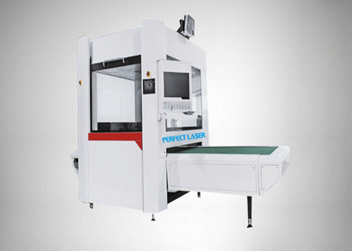 Automatic Galvo CO2 Laser Engraving Machine For Jeans Denim Fabric