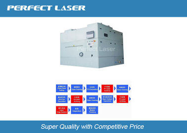 China 1064 Nm / 532 Nm Thin Film Laser Scribing Machine With CCD Alignment System factory