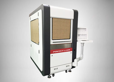 Small Scale Fiber Laser Cutting Equipment For Carbon Steel , PE-F4040 6060 6040