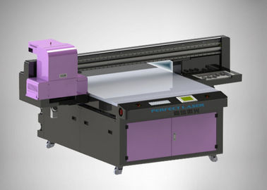China Double Rail Industrial Uv Inkjet Printer Automatic Cleaning With 2g Ram distributor