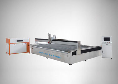China Overall Gantry Type Three Axis Water Cutting Machine FOR Stainless Steel , PEG -4020 distributor