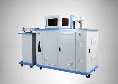 China Three In One High Precision Automatic Channel Letter Bender Machine For Aluminium Profile distributor