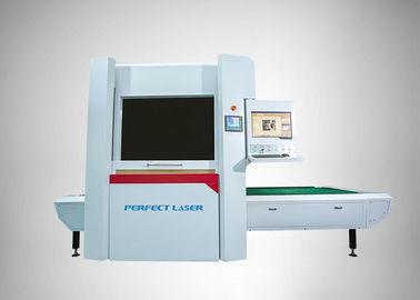 China Galvanometer Scanning CO2 Laser Engraving Machine Fast Speed For Jeans / Denim distributor