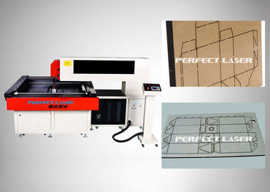 China Paper Laser Die Cutting Machine 900×900mm With Cnc Professional Control System distributor