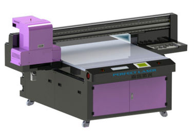 China High Quality Two Heads Flat Bed Printer UV For Wood Products distributor