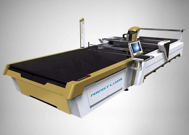 China Automatic CO2 Laser Cutting Machine CAD/CAM Cutting System For Cotton Linen Silk factory
