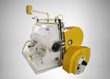 China Small Size Die Cutting Creasing Machine Fast Cutting Speed For Packing Industry factory
