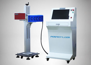 China Data Networking Co2 Laser Marking Machine 110×110mm 10W/30W/60W Fast Speed factory