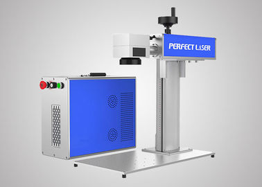 China Fast Speed Fiber Laser Marker Machine Compact Structure For Jewelry / Auto Parts distributor
